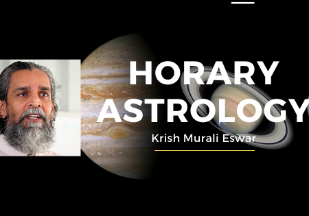 Horary Astrology with Krish Murali Eswar