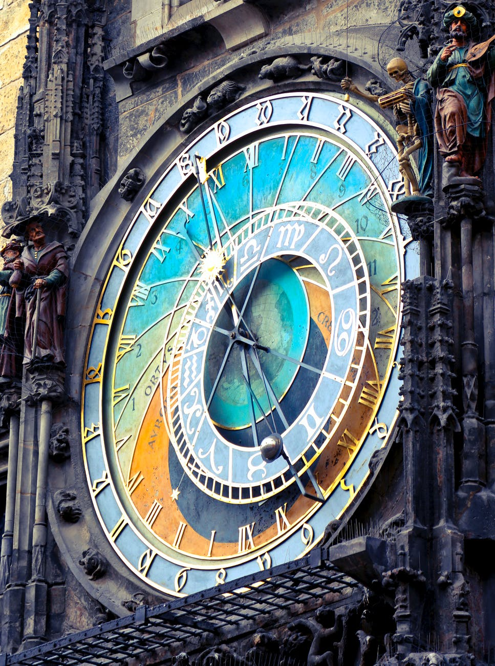 Learning about the History of Astrology - Astrologyical Clock in Prague